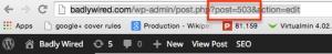 Find WordPress post id