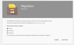 Google Apps Migration Options